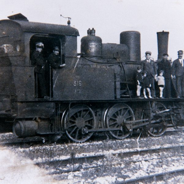 Locomotiva a vapore N. 316 FSE